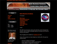 Tablet Preview of nichebusinesssolutions.co.uk
